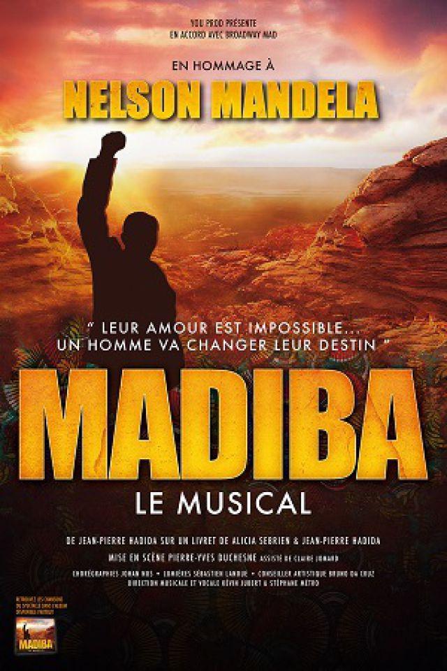 MADIBA Le Musical @ Palais des Congrès  Salle Erasme - Strasbourg