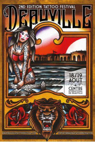 Billets Deauville Tattoo Festival #2 - DIMANCHE - Centre International Deauville