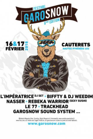 Festival GAROSNOW PART #2 - Pass 2 Jours à CAUTERETS @ Royalty - Billets & Places