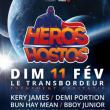 Concert LES HEROS DES HOSTOS