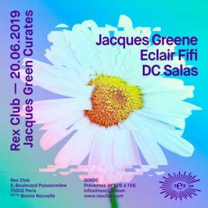 Jacques Greene Curates