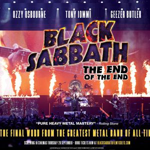 Black Sabbath - The End of the End @ La Géode - Paris