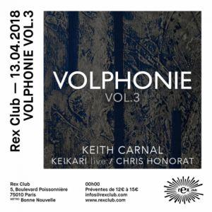 VOLPHONIE VOL 3 @ Le Rex Club - PARIS