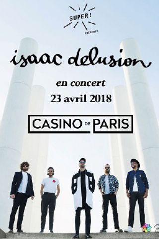 Billets ISAAC DELUSION - Casino de Paris