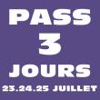 Festival PASS 3 JOURS