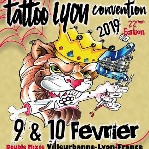 22 ème Lyon Tattoo Convention @ DOUBLE MIXTE - VILLEURBANNE