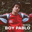 Concert BOY PABLO à Lyon @ Marché Gare - Billets & Places
