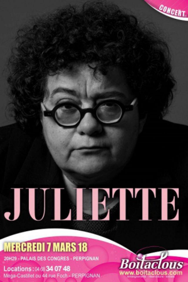 JULIETTE @ PALAIS DES CONGRES - PERPIGNAN