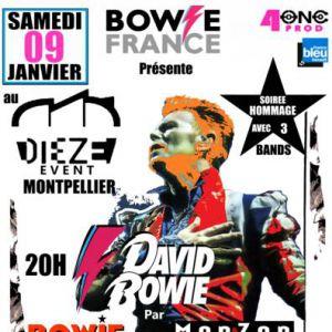 Soirée Hommage 2021 À David Bowie - 3 Tributs Bands