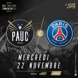 PAUC - PARIS @ Arena du Pays d'Aix - AIX EN PROVENCE