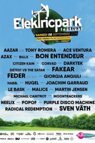 Elektric Park Festival à CHATOU @ Île des impressionnistes - Billets & Places