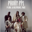 Concert Phony PPL à Paris @ La Bellevilloise - Billets & Places