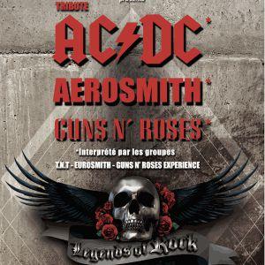 LEGENDS OF ROCK (TRIBUTE AC/DC, Aerosmith, GUNS N'ROSES) @ Zénith de Dijon - Dijon
