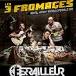 Concert LES 3 FROMAGES à Nantes @ Le Ferrailleur - Billets & Places