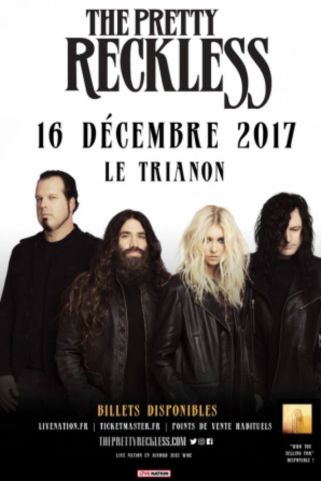 THE PRETTY RECKLESS @ Le Trianon - Paris