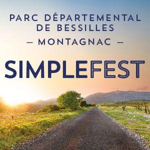 Simple Fest - Pass 3 jours SOLO @ Parc Departemental de Bessilles - MONTAGNAC
