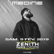 Concert MEDINE à Paris @ Zénith Paris La Villette - Billets & Places