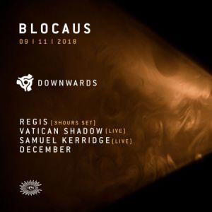 BLOCAUS INVITE DOWNWARDS @ Le Rex Club - PARIS