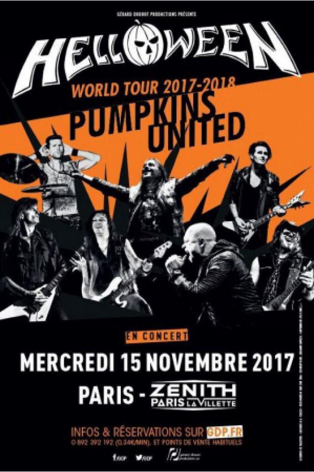 Concert HELLOWEEN à Paris @ Zénith Paris La Villette - Billets & Places