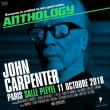 Concert JOHN CARPENTER à Paris @ Salle Pleyel - Billets & Places