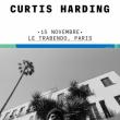 Concert Curtis Harding + Tiwayo à Paris @ Le Trabendo - Billets & Places