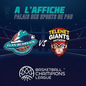 Elan Bearnais / Telenet Giants Anvers