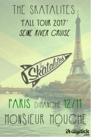 Concert The Skatalites Fall Tour 2017 - Seine River Cruise à PARIS @ Monsieur Mouche - Billets & Places