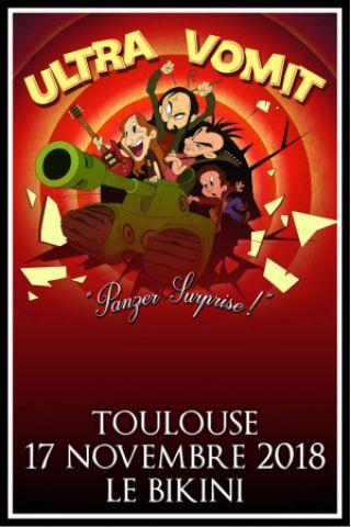 Concert ULTRA VOMIT + TAGADA JONES + LES 3 FROMAGES à RAMONVILLE @ LE BIKINI - Billets & Places