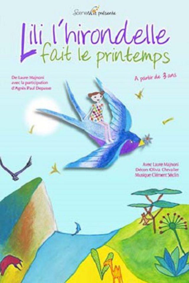 Lili l'hirondelle fait le printemps @ Le Funambule Montmartre - PARIS