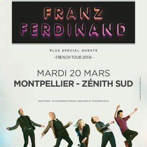 FRANZ FERDINAND @ ZENITH SUD - Montpellier