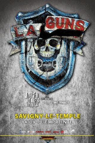Concert L.A. GUNS + JARED JAMES NICHOLS + STONE TRIGGER