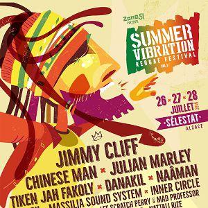 SUMMER VIBRATION REGGAE FESTIVAL #5  - Jeudi 26 juillet @ Les Tanzmatten - SÉLESTAT