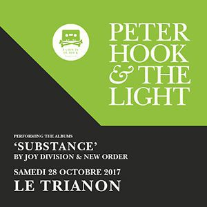 Billets Peter Hook & The Light - Paris - Le Trianon