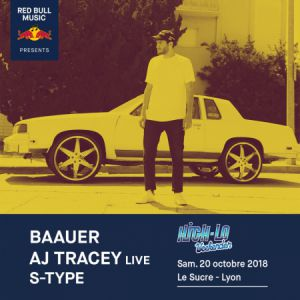 Billets RED BULL MUSIC x HIGH-LO WEEKENDER : BAAUER, AJ TRACEY, S-TYPE - Le Sucre