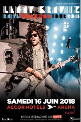 Billets LENNY KRAVITZ - ACCORHOTELS ARENA