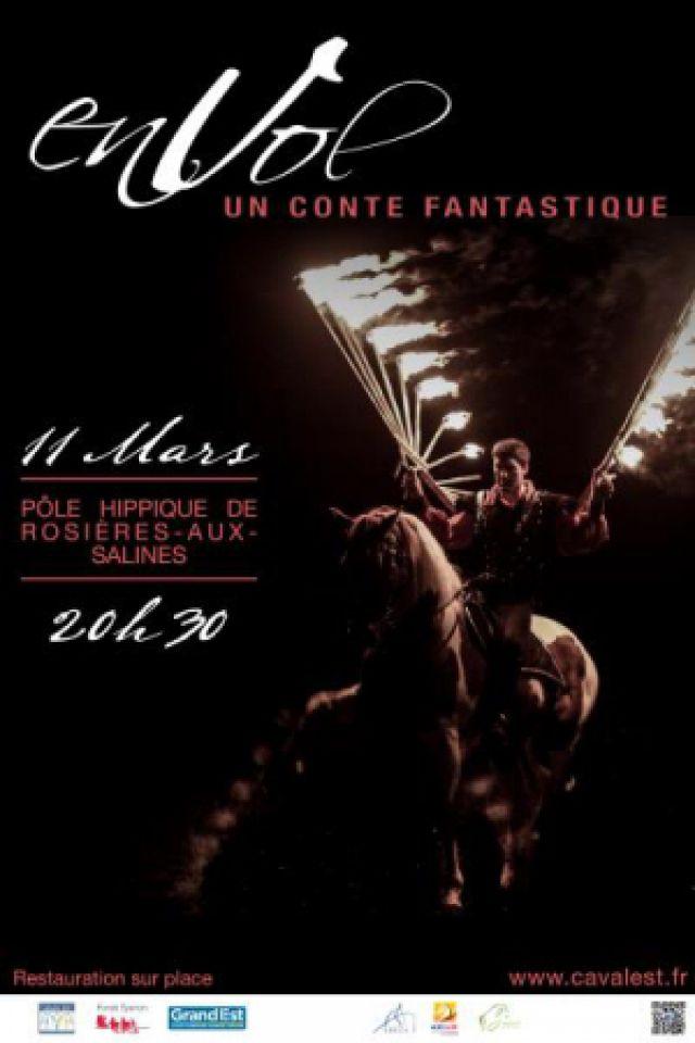 Spectacle ENVOL à ROSIÈRES AUX SALINES @ Pôle Hippique de Lorraine - Billets & Places