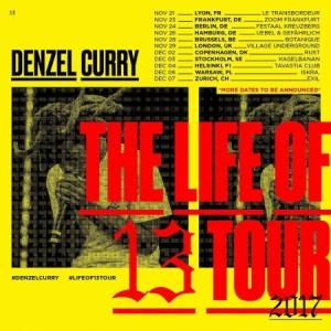 DENZEL CURRY @ TRANSBORDEUR - Villeurbanne