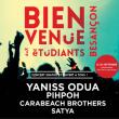 Concert YANISS ODUA + PIHPOH + SATYA + CARABEACH BROTHERS à BESANÇON @ PARC DE LA GARE D'EAU  - Billets & Places