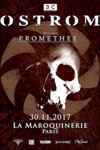 Concert NOSTROMO + PROMETHEE à PARIS @ La Maroquinerie - Billets & Places