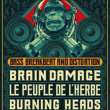 Concert THE BIG TAKEOVER : BRAIN DAMAGE, PEUPLE DE L'HERBE, BURNING HEADS