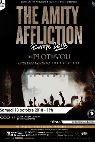 Concert THE AMITY AFFLICTION à Villeurbanne @ CCO - Billets & Places