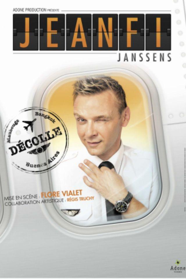 """JEANFI JANSSENS - """"Jeanfi décolle"""" @ Salle Marcel Sembat - Chalon sur Saône"""