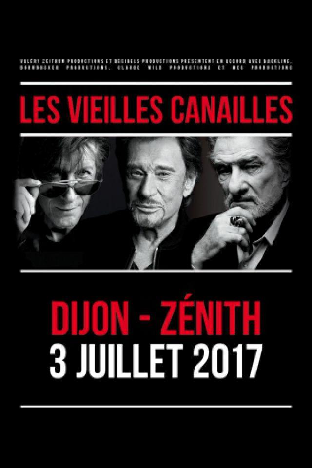 LES VIEILLES CANAILLES @ Zénith de Dijon - Dijon