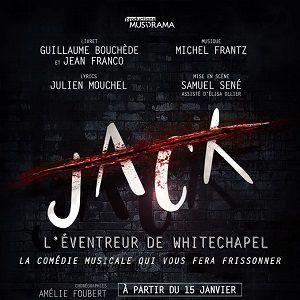 JACK,  L'EVENTREUR DE WHITECHAPEL @ Théâtre Trévise - Paris
