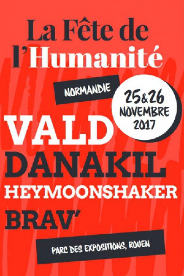 FÊTE DE L'HUMANITÉ NORMANDIE @ Parc des Expositions de Rouen. - Le Grand Quevilly