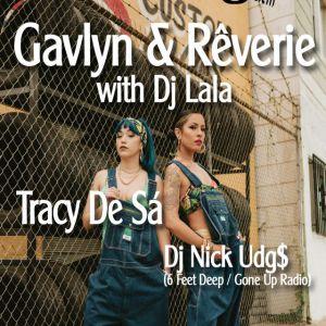 Gavlyn & Rêverie with DJ Lala @ MJC Ô Totem - Rillieux la Pape