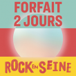 Festival ROCK EN SEINE 2019 - FORFAIT 2J  AU CHOIX à Saint-Cloud @ Domaine national de Saint-Cloud - Billets & Places