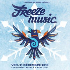 Freeze Music 2018 @ Centre des Congrès - JONZAC