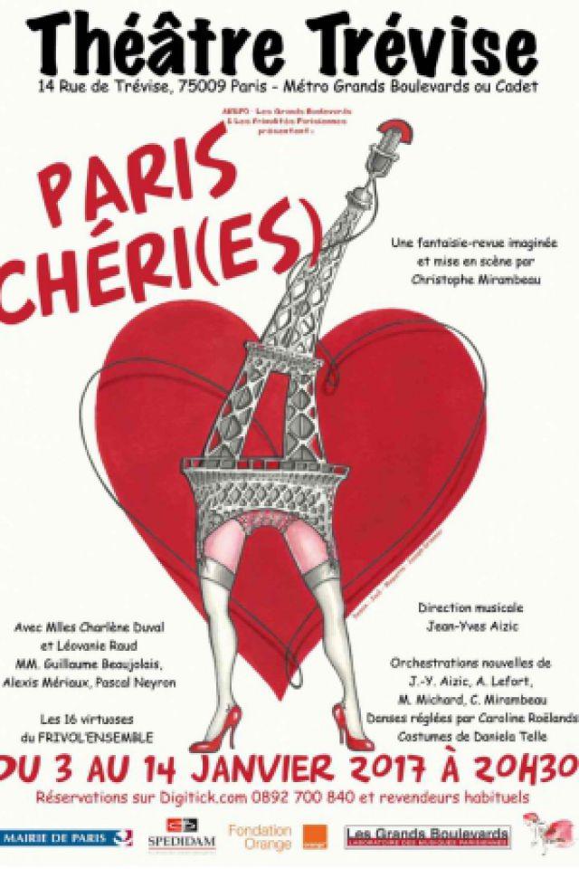Spectacle Paris Chéri(es)