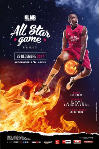 Match ALL STAR GAME GAME 2017 à PARIS 12 @ ACCORHOTELS ARENA - Billets & Places